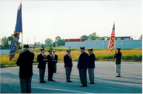 Flag Disposal Ceremony