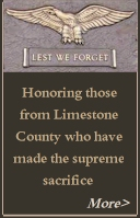 Athens and Limestone County Alabama veterans who gave the ultimate sacrifice for our country
